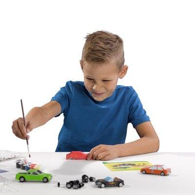 Bilar - gjut i gips och måla själv - SES Creative