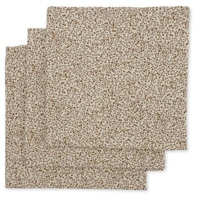 Amningsfilt/handduk - Blossom mist birk - 3 st - ekologisk från Konges sløjd