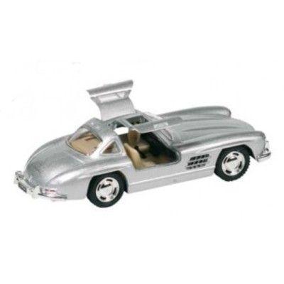 Bil i metall - Mercedes Benz 300SL (1954) - silver