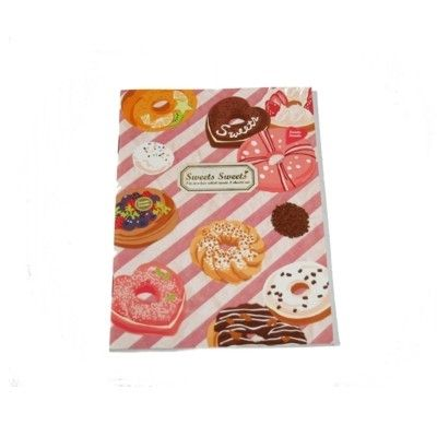 Anteckningsbok - donuts