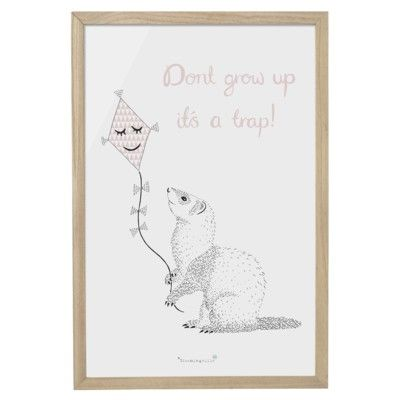 Tavla - Don't grow up it's a trap! - Bloomingville