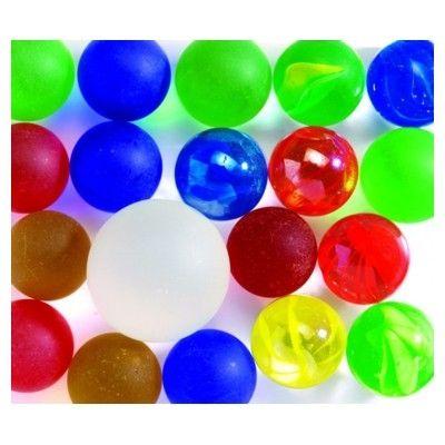 Glaskulor - frostade i olika färger