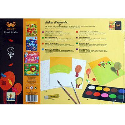 Måla med akvarell
