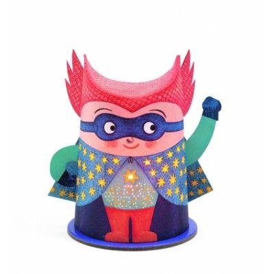 Nattlampa - superhjälte - Djeco