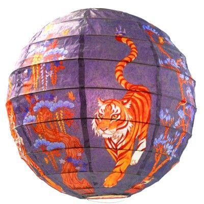 Rislampa - Tiger