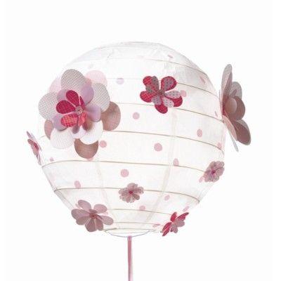 Rislampa - Blommor 3D