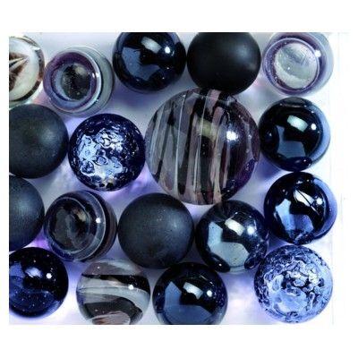 Glaskulor - svarta