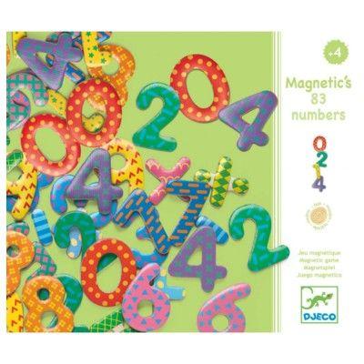 Magnetsiffror i trä - Djeco