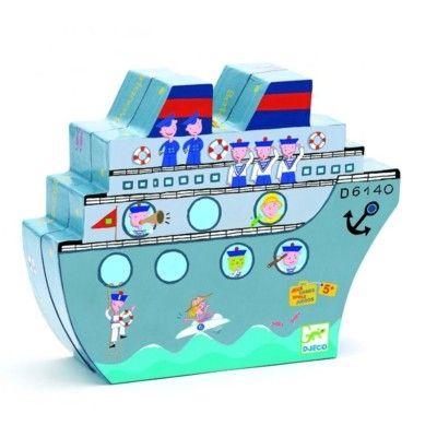 Spel - Sänka skepp - Djeco