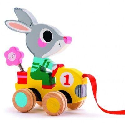 Dragleksak - kaninen Roulapic - Djeco