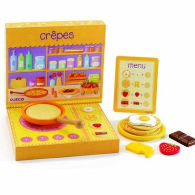 Creperie - pannkakor på menyn - Djeco