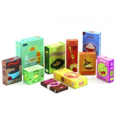 Leksaksmat - Matförpackningar - Djeco
