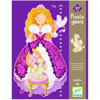 Stort pussel med prinsessa - 1 meter