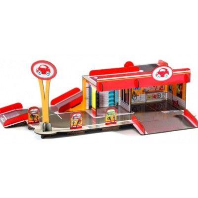 Pop to play - Garage - bygg och lek