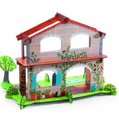 Pop to play - Amélies bondgård - bygg och lek
