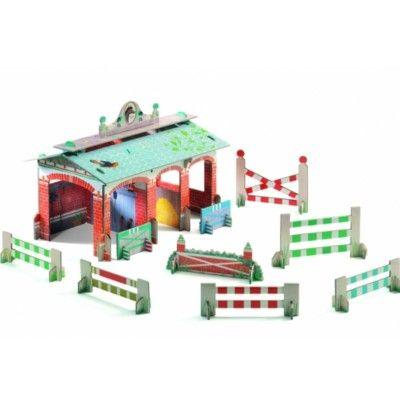 Pop to play - Ridstall - bygg och lek