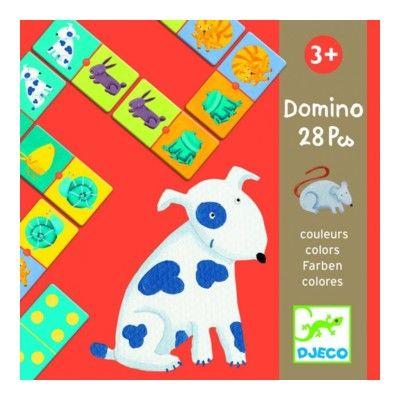 Domino - djur - Djeco