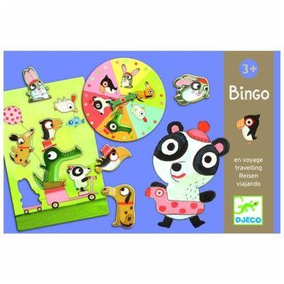 Spel - bingo med söta djur - Djeco