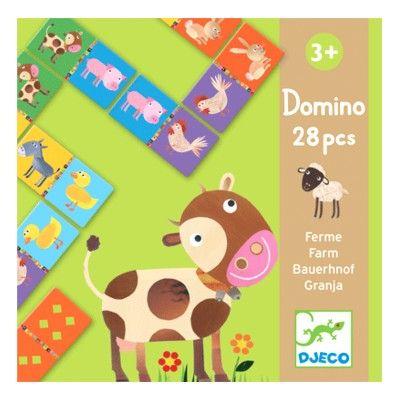 Domino - bondgård - Djeco