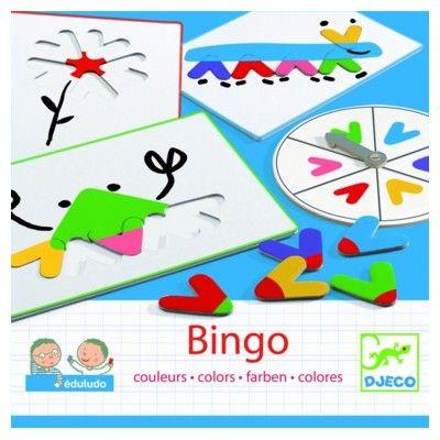 Spel - Bingo - Upptäcka färgerna