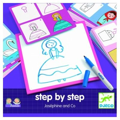 Rita - Step by step - Joséphine and Co - Djeco