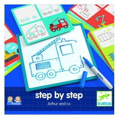 Rita - Step by step - Arthur and Co - Djeco