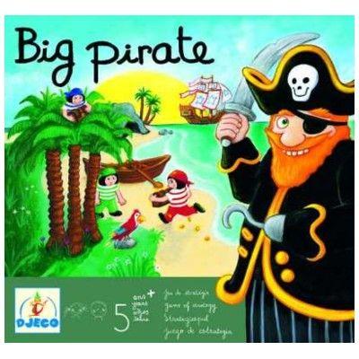 Spel - Big Pirate - Djeco