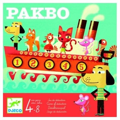 Spel - Pakbo - Djeco