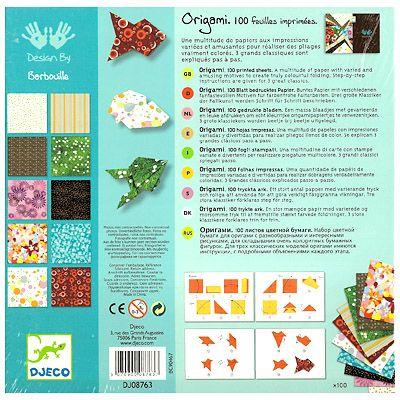 Origami - ett klassiskt pyssel - Djeco