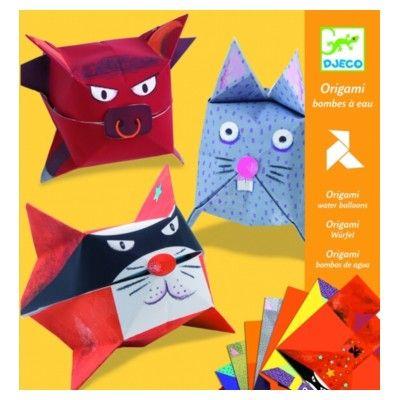 Origami - ballongdjur - Djeco