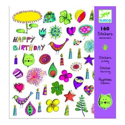 Klistermärken - Happy Birthday