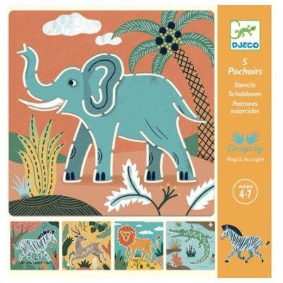 Ritschabloner - Wild animals - Djeco