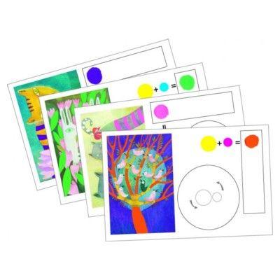 Måla tavlor med färgblandning - Djeco