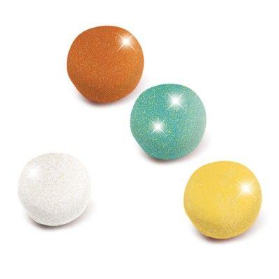 Lera - 4 st glittery - play dough - Djeco