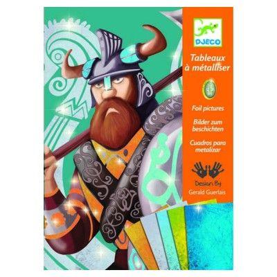 Bilder att metallisera - Vikingarna - Djeco