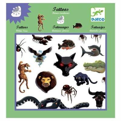 Tatueringar - djur