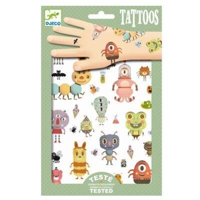 Tatueringar - monster - Djeco