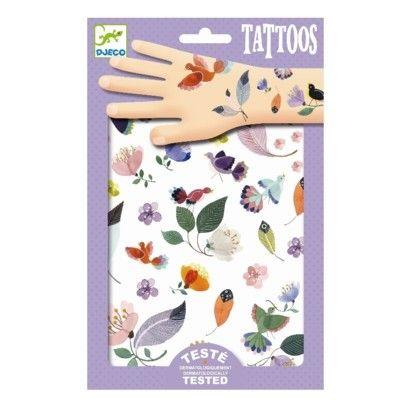 Tatueringar - på språng - Djeco