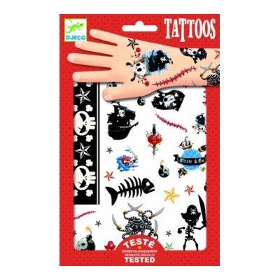 Tatueringar - pirater - Djeco