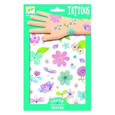 Tatueringar - ängarnas skönheter - Djeco