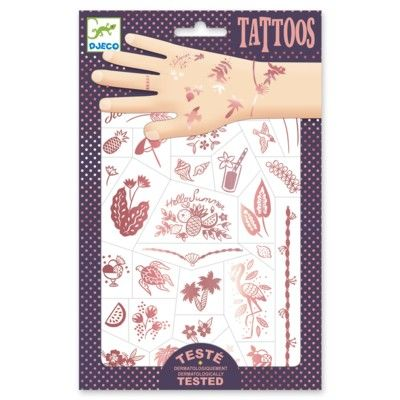 Tatueringar - Hallo Summer - Djeco