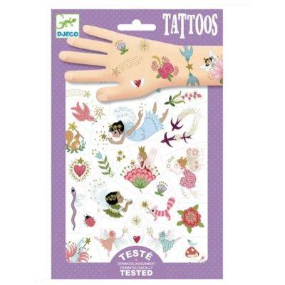 Tatueringar - Fairy friends - Djeco