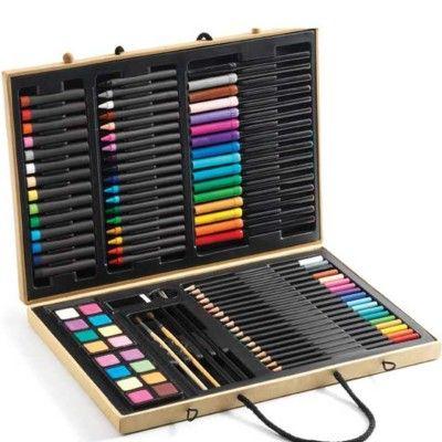 Big Box - Rita och måla med 88 delar - Djeco