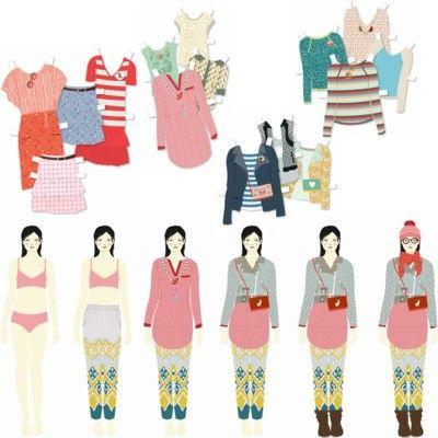 Klippdockor - den stora klädkammaren