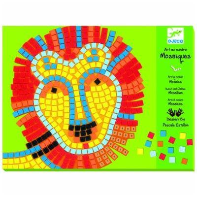 Mosaik, Lejon och val