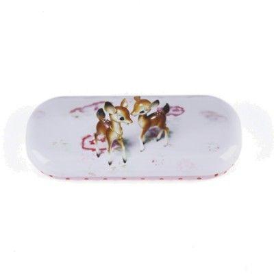 Glasögonfodral - rådjurskid - Catseye