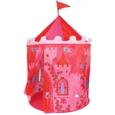 Lektält - rosa slott