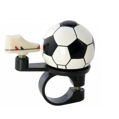 Ringklocka till cykel - fotboll & sko - Liix