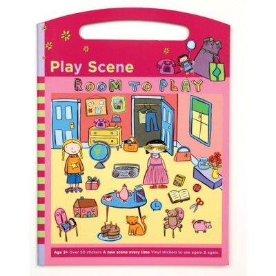 Aktivitetsbok, stor - Room to play - Mudpuppy