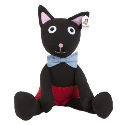 Katten Rita från Pelli Anni - gosedjur - Fair Trade